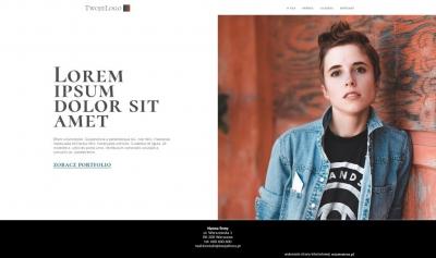 strona dla osoby wordpress